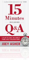 15 Minutes Including Q & A book
